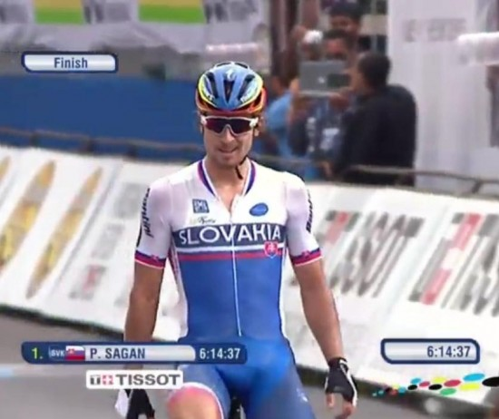 PETER SAGAN CAMPEON DEL MUNDO 2015
