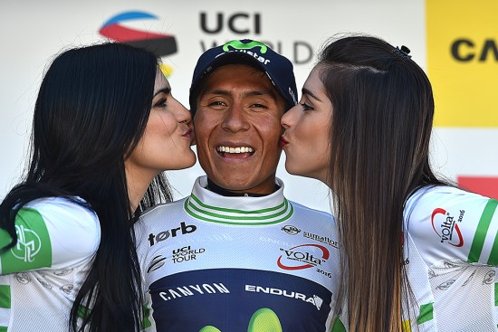 Nairo Quintana leads the Volta a Catalunya. Photo: Tim De Waele | TDWsport.com