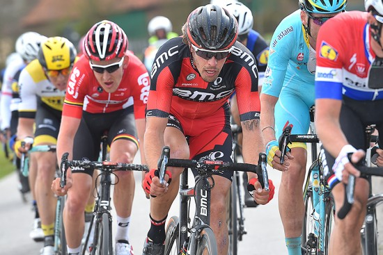 With Greg Van Avermaet out of E3 due to illness, Daniel Oss put in a a good showing for Team BMC. Photo: Tim De Waele | TDWsport.com
