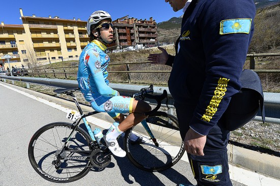 Fabio Aru is usually a threat in the mountains but has not made his mark at Catalunya, finishing outside the top ten. Photo: Tim De Waele | TDWsport.com